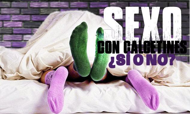 usar sexo calcetines