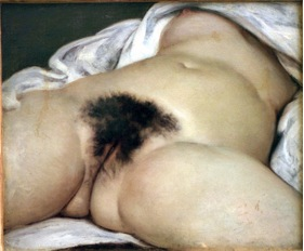 El origen del mundo de Courbet