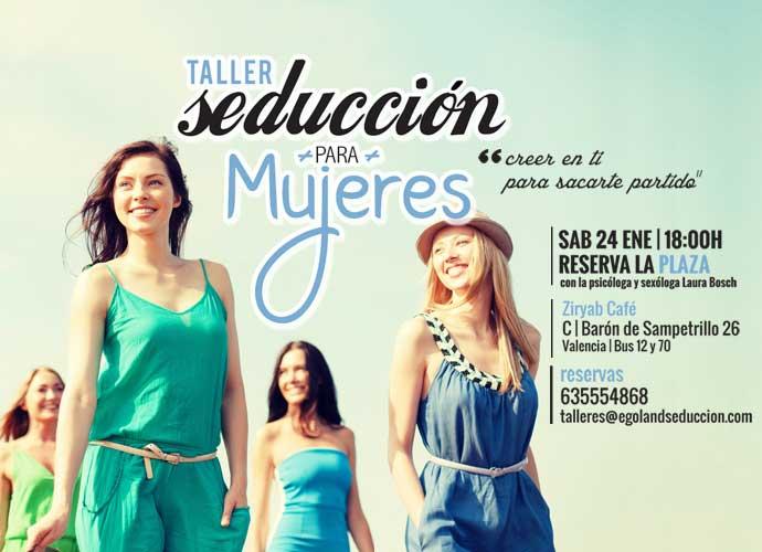 taller seduccion mujeres