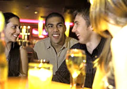 juego social en bar