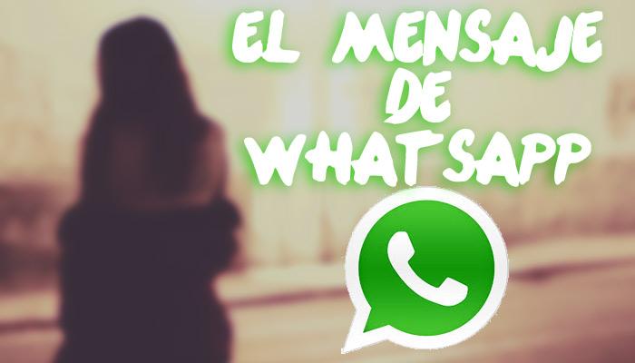 Mensaje de whatsapp ligar