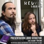 presentación libro seductor en RED VLC