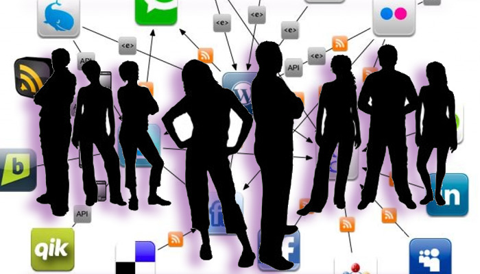 ligar en redes sociales