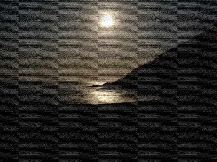 relato erótico en la playa por la noche